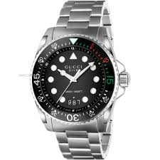 "men s gucci gucci dive watch ya136208 watch shop comâ""¢ mens gucci gucci dive watch ya136208"