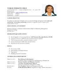 updated resume updated resume   vergie poblete cruz         vergie cruz yahoo com