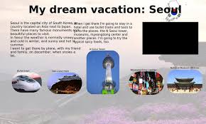 my dream vacation seoul