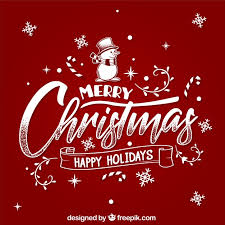 merry christmas and happy holidays text. Contemporary And Merry Christmas And Happy Holidays Free Vector Intended Christmas And Happy Holidays Text R