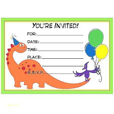 free dinosaur party invitations free birthday party invitation maker guluca