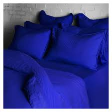 linen duvet cover super king size workwear blue