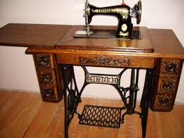 Treadle Sewing Machine Cabinet Reserved For Leonard Sackett Singer Tiffany Gingerbread 115