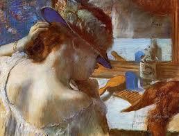 4 at the mirror impressionism ballet r edgar degas