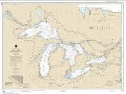 Great Lakes 14500 27 By Noaa Maps Noaa Nautical Charts