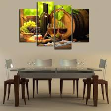 canvas wall art for dining room kitchen wall art canvas prints grapes wines fruits painting print on canvas 4 piece canvas art artwork for dining room decor  on wine and dine canvas wall art with canvas wall art for dining room kitchen wall art canvas prints