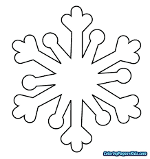 Snowflake Mandala Coloring Pages As Well As Coloring Page Snowflake
