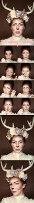 easy deer makeup tutorial for fawn makeup