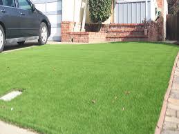 Fake Grass Carpet Central Gardens Texas Landscape Rock Front Yard