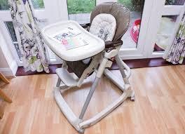 peg perego prima pappa dondolino highchair rocking 4 wheels mamas papas high chair can post