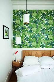 Paris Bedroom Wallpaper A Scandi Furniture Designer At Home In Paris Tropical Wallpaper
