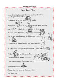 Letter To Santa Claus In Word And Pdf Formats