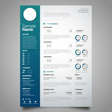 curriculum template curriculum template design vector free download