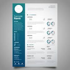 curriculum template curriculum template design vector free download