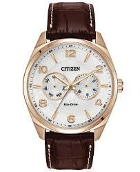 citizen men s eco drive brown leather strap watch 42mm ao9023 01a citizen men s eco drive brown leather strap watch 42mm ao9023 01a