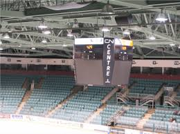 Cn Center Seating Chart Prince George Enhances The Cn Centre With A New Video