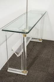 small acrylic console table ava acrylic console table  innovative