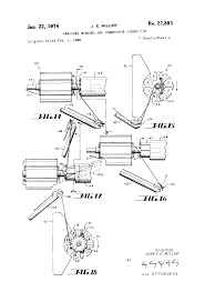 patent usre27893 armature winding and commutator connection patent drawing