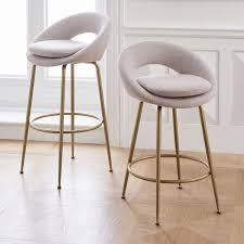 upholstered bar stools. Orb Upholstered Bar + Counter Stools R