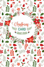 How To Address A Christmas Card Christmas Card Address Book Record Book And Tracker For