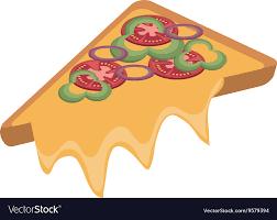 pizza slice graphic. Contemporary Slice Fast Food Pizza Slice Graphic Vector Image On Pizza Slice Graphic