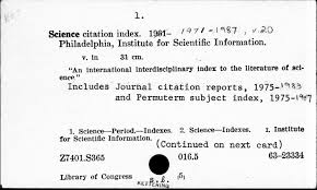 Speaking Of Science Eugene Garfield Obituary Scientometrics