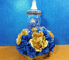 Amazoncom Personalized Royal Themed Centerpieces For Baby Shower Prince Themed Baby Shower Centerpieces