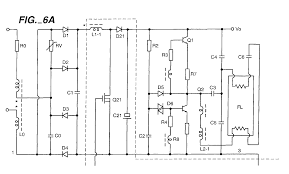 electronic ballast circuit diagram fluorescent lamp electronic method and circuit of an electronic ballast patent 0979025 on electronic ballast circuit diagram fluorescent lamp