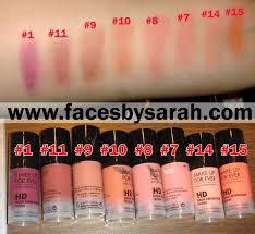 makeupforever hd microfinish blush aqua cream eyeshadow