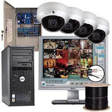 System cabling; IP camera solution One Click Solution   Business software in Cambodia