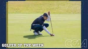 Jacob Johnson Named CCAA Golfer of the Week - UC San Diego