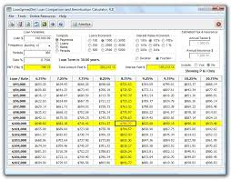 Amortization Loan Calculator Loanspread Loan Calculator With Amortization Schedules Compares 135