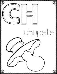 Spanish Alphabet Coloring Pages Letter Of The Week Coloring Posters