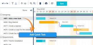 Task Management Chart Gantt Chart Add On Simplified Schedule Management Orangescrum