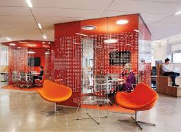 office spaces design. Pandora\u0027s Small Meeting Spaces, Designed By Abastudio, Feature Fabric-covered Fiberglass Acoustic Panels Office Spaces Design