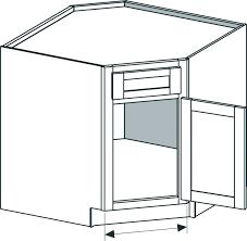 corner cabinet sizes standard kitchen