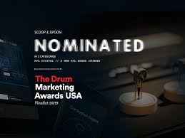 Drum Design Awards 2019 Scoop Spoon Nominated For Marketing Awards In New York
