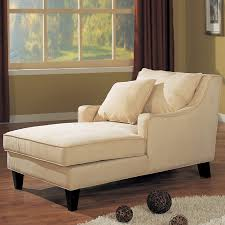 Coaster Fine Furniture Beige/Cappuccino Microfiber Chaise Lounges