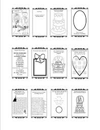 wedding activity book template printable flower or ring printable coloring pages