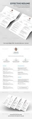 Effective Resume TOP 100 Professional Resume Templates 86