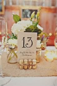 Marvellous Ideas For Wedding Table Numbers Top 10 Diy Wedding Table Number  Ideas With Tutorials