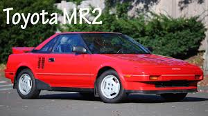 1986 Toyota MR2 review - YouTube