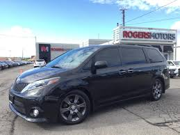 Used 2015 Toyota Sienna SE - NAVI - DVD - LEATHER - SUNROOF for ...