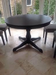 ikea ingatorp extending round dining table