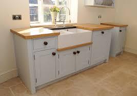 Inspiring Kitchen Stand Alone Cabinet 2 Free Standing Kitchen Sink