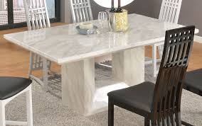 White Marble Top Dining Table Beauty Of Marble Top Dining Table Jen Joes  Design Designs