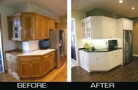 attractive refinishing oak kitchen cabinets regarding painting wood