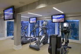 home gym furniture. Amazing Bedroom Furniture, Fully Equipped Luxury Home Gym Interior Furniture