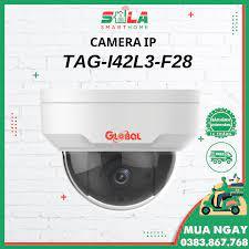 Camera IP Dome Giám Sát NHÀ/TRỌ/CÔNG TY - 2.0mp Global TAG-I42L3-F28