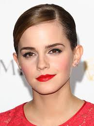 red dress all makeup